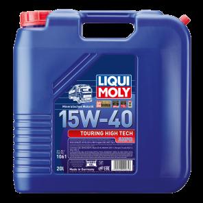 Liqui Moly Touring High Tech SHPD-Motoröl 15W-40 mineralisches NFZ Nutzfahrzeug Diesel Motoröl 20Liter Kanister