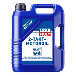 Liqui Moly 2-Takt-Motoroil selbstmischend teilsynthetisches Motorrad Motoröl 5l