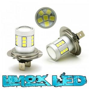 LED Nebelscheinwerfer Birne Lampe H7 24x 2835 SMD