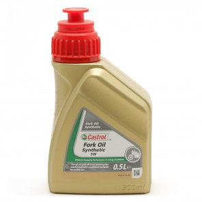 Castrol SYNTHETIC FORK Oil 5W Motorrad 500ml