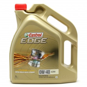 Castrol Edge Fluid Titanium (ex. FST) 0W-40 A3/B4 Motoröl 5l Kanne
