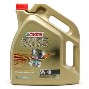 Castrol Edge Turbo Diesel 5W-40 Fluid Titanium (ex. FST) Motoröl 5l