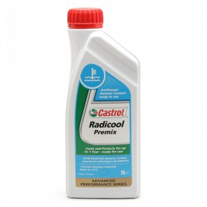 Castrol Radicool Premix Kühlerfrostschutz Fertigmischung 1l