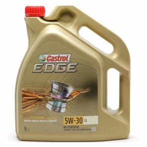 Castrol Edge 5W-30 LL Fluid Titanium (ex. FST) Motoröl Longlife III 5l