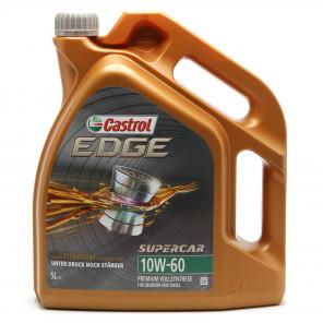 Castrol Edge 10W-60 Supercar Motoröl 5l Kanister