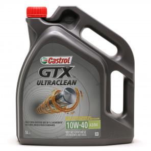 Castrol GTX Ultraclean 10W-40 A3/B4 Diesel & Benziner Motoröl 5Liter