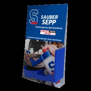 S100 Sauber Sepp 1 Stk. (Kettenspray-Spritzschutz)