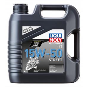 Liqui Moly 1689 Motorbike 4T 15W-50 Street Motorrad Motoröl 4l