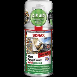 SONAX 03237000 - Klimaanlagenreiniger/-desinfizierer - KlimaPowerCleaner AirAid probiotisch Cherry Kick