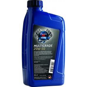 Eurolub Multigrade SAE 20W-50 Classic Motoröl 1l