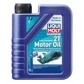 Liqui Moly 25021 Marine Fully Synthetic 2T Motor Oil 1l Flasche
