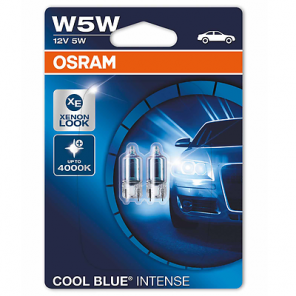 Osram W5W 12V 5W Halogen COOL Blue INTENSE Blister 2st.