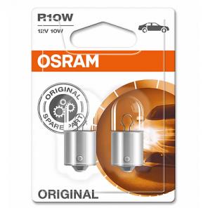 Osram R10W 12V 10W BA15s 2st. Blister Osram