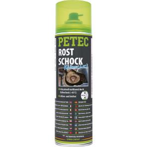 Petec Rostschock Kälteschock Rostlöser 500ml Spray