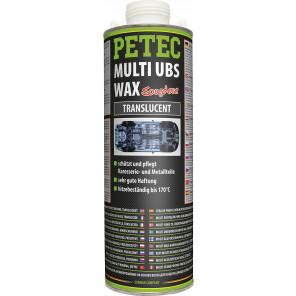 Petec Multi UBS WAX transparent 1000ml Saugdose