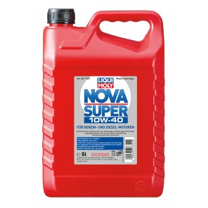 Liqui Moly 7351 Nova Super 10W-40 Diesel & Benziner Motoröl 5Liter