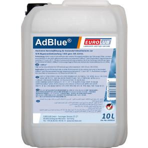 Eurolub AdBlue Harnstofflösung 10l Kanne mit Ausgießer