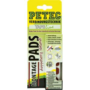 Petec Montage Pads, 3 Stück