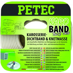 Petec BUTHYL DICHTBAND 20 MM X 3 M, WEISS