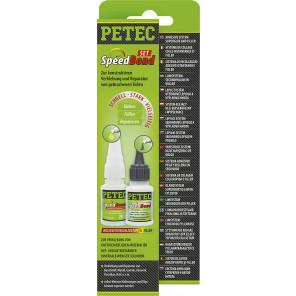 Petec SpeedBond-Set, Hochleistungsklebstoff + Filler