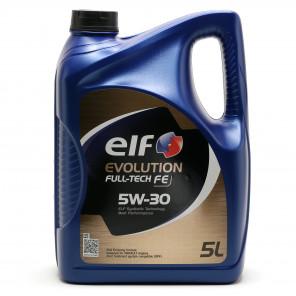 Elf Evolution Full Tech FE 5W-30 Motoröl 5l