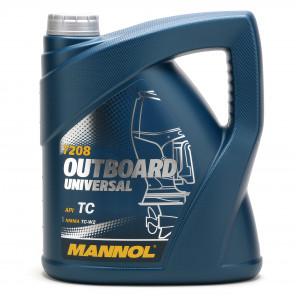MANNOL Outboard Universal TCW2 Motoröl 4l