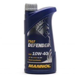 Mannol Defender 10W-40 Diesel & Benziner Motoröl 1Liter