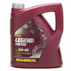 MANNOL Legend+Ester 0W-40 Motoröl 4l