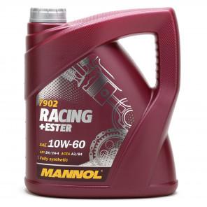 MANNOL Racing+Ester 10W-60 Motoröl 4l