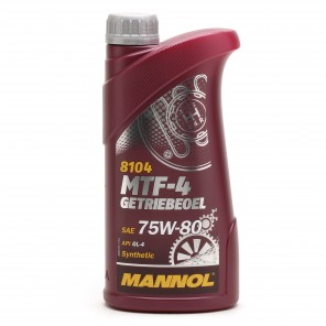 MANNOL MTF-4 Getriebeoel 75W-80 API GL-4 1l