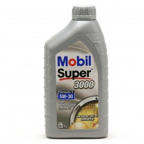 Mobil Super 3000 Formula V Longlife 5W-30 Motoröl 1l