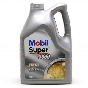Mobil Super 3000 X1 5W-40 Motoröl 5l