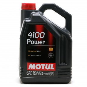 Motul 4100 Power 15W-50 Motoröl 5l