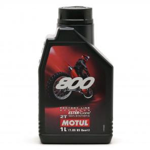 Motul 800 2T Factory Line Off Road vollsynthetisches Motorrad Motoröl 1l