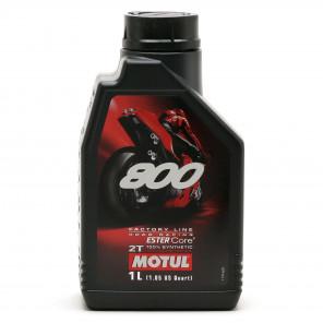 Motul 800 2T Factory Line Road Racing vollsynthetisches Motorrad Motoröl 1l