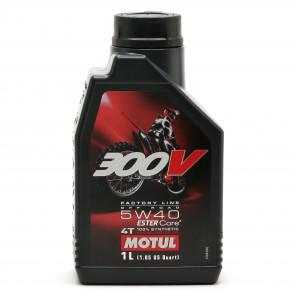 Motul 300V 4T Factory Line 5W-40 Off Road Motorrad Motoröl 4l