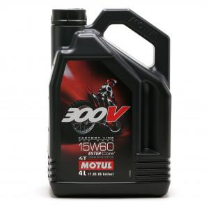 Motul 300V 4T Factory Line 15W-60 Off Road Motorrad Motoröl 4l