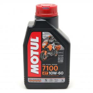 Motul 7100 ester 10W-60 4T Motorrad Motoröl 1l