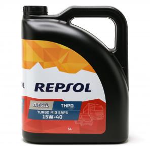 Repsol LKW/ NKW Motoröl DIESEL TURBO THPD MID SAPS 15W40 5 Liter