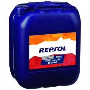 Repsol LKW/ NKW Motoröl DIESEL TURBO THPD MID SAPS 15W40 20 Liter