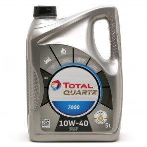 Total Quartz 7000 10W-40 Diesel & Benziner Motoröl 5Liter