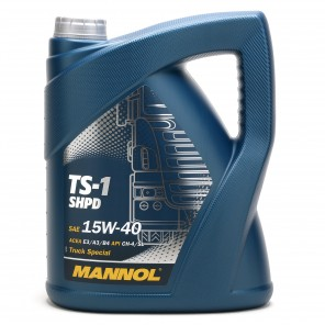 MANNOL TS-1 SHPD 15W-40 Motoröl 5l Kanne