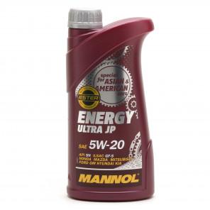 MANNOL Energy Ultra JP 5W-20 Motoröl 1l
