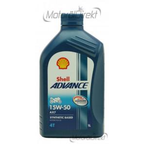 Shell Advance AX7 4T 15W-50 Motorrad Motoröl 1l