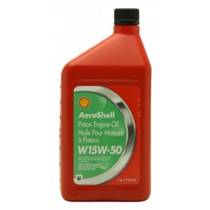 Shell Aeroshell Oil W 15W-50 1l