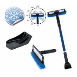 Winter Cleaning Set 5tlg. blau/schwarz