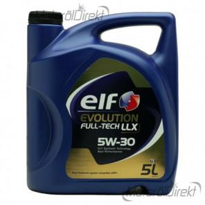 Elf Evolution FULL-TECH LLX 5W-30 Motoröl 5l