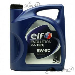 Elf Evolution 900 DID 5W-30 Motoröl 5l