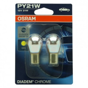 Osram PY21W 12V 21W BAU15s Diadem Chrome 2st. Blister