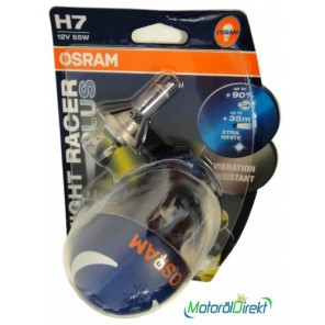 Osram H7 12V 55W PX26d Night Racer PLUS 2st. Blister